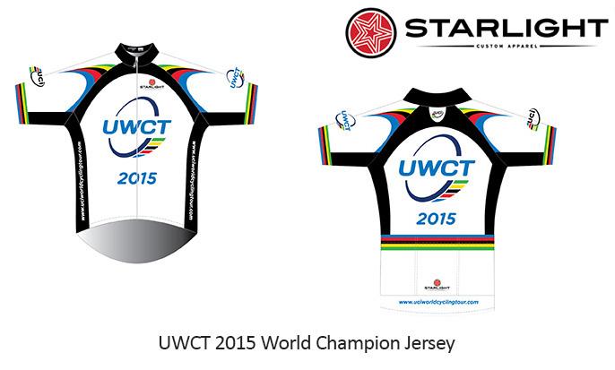 UWCT UCI 2015 Active Short Sleeve Jersey 1